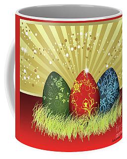 Easter Egg Card Coffee Mug