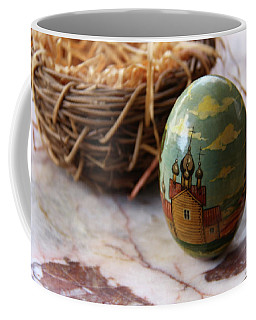 Easter Egg Russian Style Coffee Mug by Yvonne Wright
