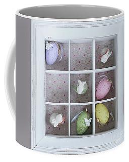 Easter Tic Tac Toe Game Coffee Mug by Anastasy Yarmolovich