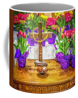 Coffee Mug featuring the photograph Easter Flowers by Nick Zelinsky