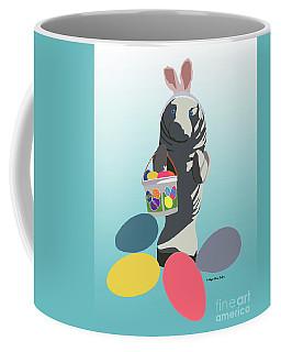 Coffee Mug featuring the digital art Easter Manatee by Megan Dirsa-DuBois