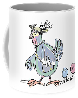 Easter Parade 2 Coffee Mug by Yvonne Wright
