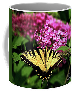 Eastern Tiger Swallowtail Butterfly Coffee Mug