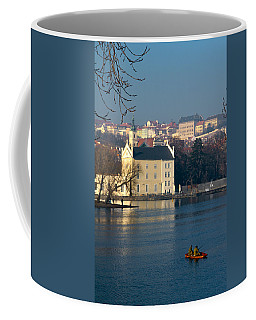 Eastern European Fishing Coffee Mug