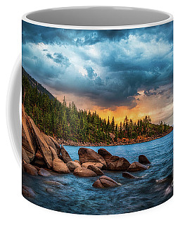 Eastern Glow At Sunset Coffee Mug
