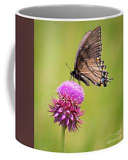 Eastern Tiger Swallowtail Dark Form  Coffee Mug