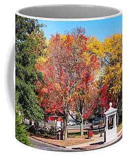 Easthampton Center In The Fall Coffee Mug