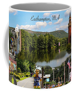Easthampton Ma Collage Coffee Mug