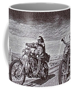 Easy Rider Drawing Coffee Mug