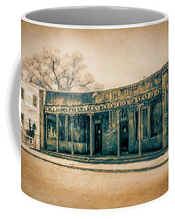 Coffee Mug featuring the photograph Eat And Drink by Lou Novick