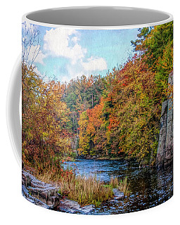 Eau Claire Dells Fall 2 Coffee Mug