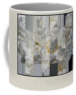 Ebony And Ivory Peony Coffee Mug by Brooks Garten Hauschild