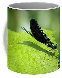 Ebony Jewelwing Coffee Mug