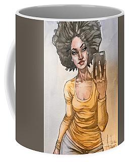 Ebony Coffee Mug by Jimmy Adams