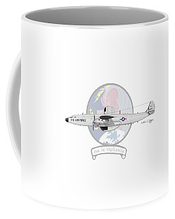 Ec-121d Super Constellation Coffee Mug by Arthur Eggers