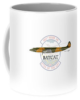 Ec-121r Batcat Coffee Mug by Arthur Eggers
