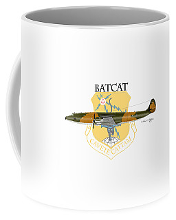 Ec-121r Batcatcavete Coffee Mug by Arthur Eggers