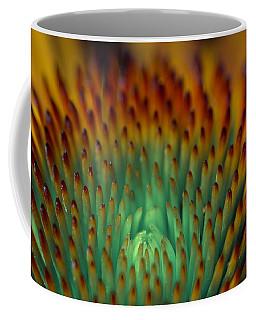 Echinacea Macro Coffee Mug