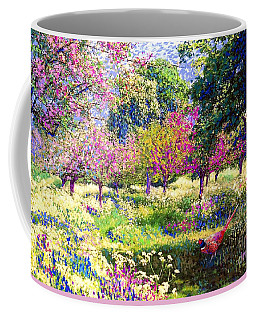 Echoes From Heaven, Spring Orchard Blossom And Pheasant Coffee Mug