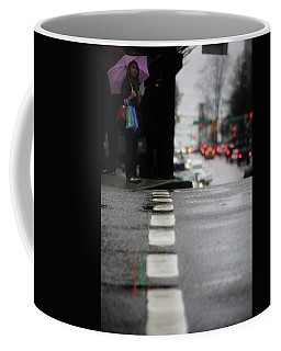 Coffee Mug featuring the photograph Echoes In The Rain Drops  by Empty Wall