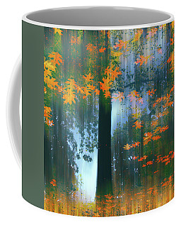 Coffee Mug featuring the photograph Echoes Of Autumn by Jessica Jenney