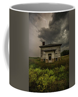 Coffee Mug featuring the photograph Eclipse Apocalypse by Aaron J Groen