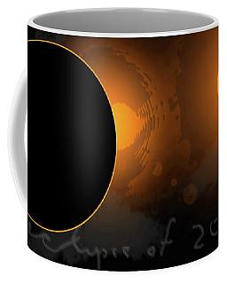 Eclipse Of 2017 W Coffee Mug