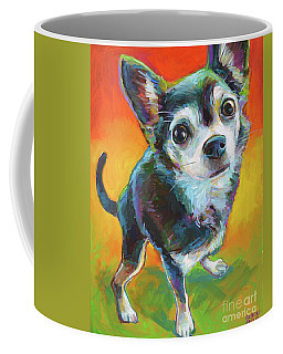 Eddie Coffee Mug by Robert Phelps