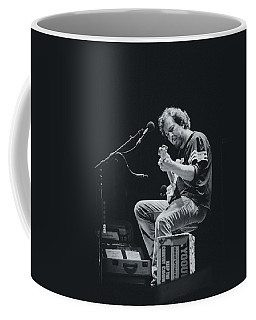 Eddie Vedder Playing Live Coffee Mug by Marco Oliveira
