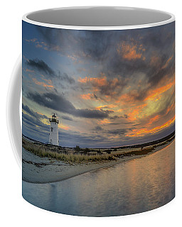 Edgartown Ligh At Dawn Coffee Mug