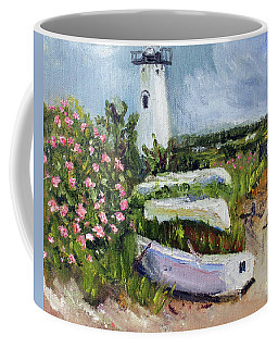 Edgartown Light And Her Entourage Coffee Mug