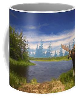 Edge Of The Lake Coffee Mug