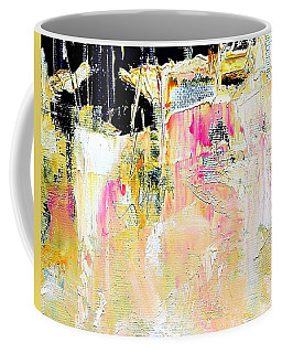 Coffee Mug featuring the painting Edge by VIVA Anderson
