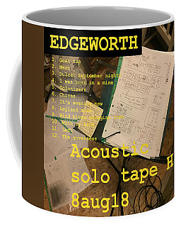Edgeworth Acoustic Solo Tape H Coffee Mug