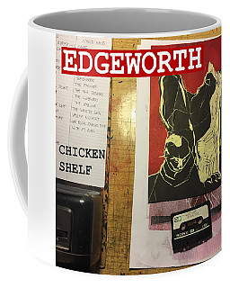 Edgeworth Chicken Shelf Cover Coffee Mug