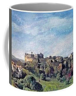 Edinburgh Castle Bright Coffee Mug by Richard James Digance