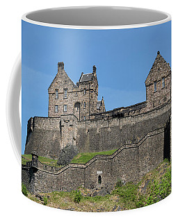 Coffee Mug featuring the photograph Edinburgh Castle by Jeremy Lavender Photography