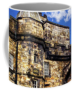 Edinburgh Castle Coffee Mug by Judi Saunders