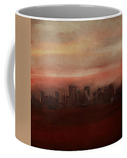 Edmonton At Sunset Coffee Mug