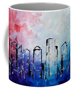 Edmonton City Skyline Coffee Mug
