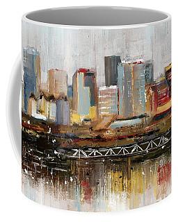 Edmonton Skyline Abstract1 Coffee Mug