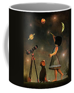 Educating Astronomy Coffee Mug