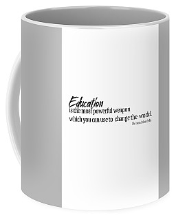 Education #minimalism Coffee Mug