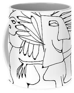 Edvard Was So Happy When The 'others' Came To Visit Coffee Mug