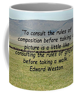 Edward Weston Quote Coffee Mug