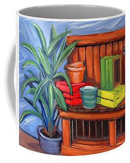 Edwards Nursery Potting Bench Coffee Mug