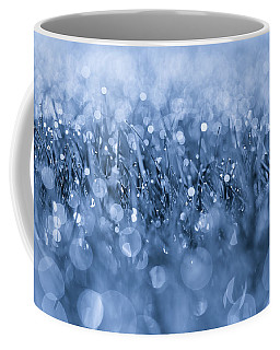 Effervescent Layered Blues Coffee Mug