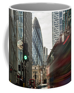 Egg Shaped Building A Coffee Mug