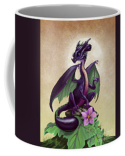 Eggplant Dragon Coffee Mug