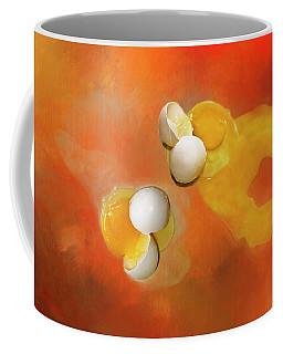 Coffee Mug featuring the photograph Eggs by Carolyn Marshall